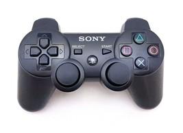 Sony Playstation PS3 OEM Model CECHZC2U Wireless Controller - Black TEST... - $24.54