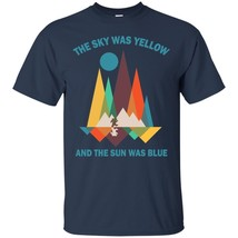 The Sky Was Yellow And The  Sun Was Blue ShortSleeveShirtsForMen - $19.80+