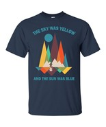 The Sky Was Yellow And The  Sun Was Blue ShortSleeveShirtsForMen - $19.80