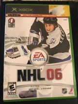 NHL 06 (Microsoft Xbox, 2005) Disc Book Case - Complete - Used - $5.93