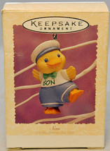 Hallmark - Son - Chick with Sailor Suit - Keepsake Easter Ornament 1995 - $6.30