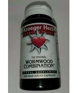 Wormwood Combination 100 Vegetarian capsules (Kroeger Herb) - $15.84