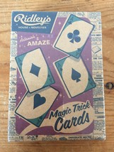 NEW Pottery Barn Ridleys House Of Novelties Magic Trick Cards Playing Ca... - $10.39