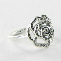 Pandora 190949CZ Ring Rose Cubic Zirconia Sterling Silver Sz 9.25 60 NWT... - $48.49