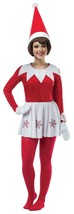 Rasta Imposta Elf on the Shelf Dress Adult Holiday Christmas Costume GC4319 - $63.40