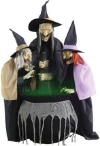 Stitch Witch Sisters Animated Halloween Decoration - €274,96 EUR