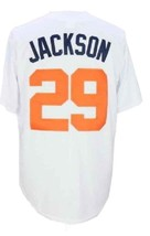 Bo Jackson #29 College Baseball Jersey Button Down White Any Size image 5