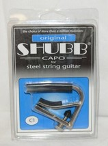 Shubb C1 Capo For Steel String Guitar Fits Most Acoustics And Electrics image 1