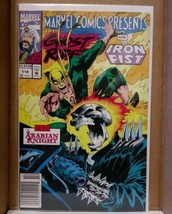 Marvel Comics Presents Ghost Rider and Iron Fist # 114 1992 - $8.77