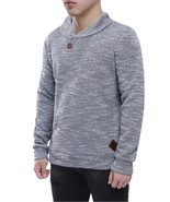 2018 Spring Mens Pullover Sweaters Simple Style Cotton O Neck Sweater Ju... - $26.84+