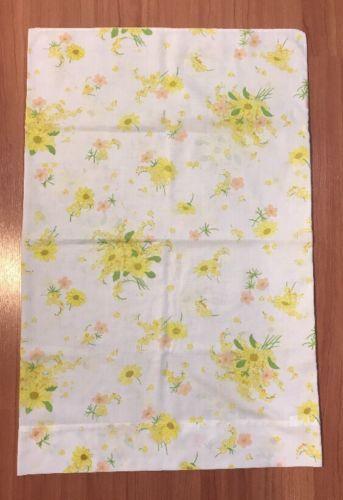 """Vintage Pillowcase Floral Printappro x. 20""""x31"""""""