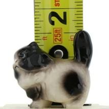 Hagen Renaker Miniature Cat Fat Black and White Ceramic Figurine image 2