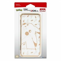 Hori New 2DS XL Duraflexi Protector Case Pikachu Gold for new Nintendo - $17.41