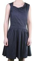 Bench Jung Damen Marineblau Pincrop Baumwollmischung Sommer Freizeit Kleid L XL