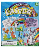 RMS INTERNATIONAL 25pc MAKE YOUR OWN EASTER CARDS Arts+Crafts CRAYONS+GO... - $3.26