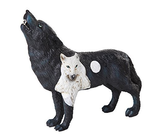 Primary image for The Wolf Spirit Collection Dark Moonlit Night Black Howling Wolf Spirit Collecti