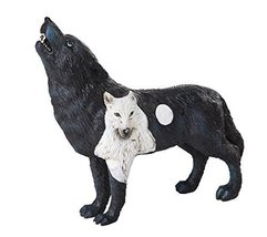 The Wolf Spirit Collection Dark Moonlit Night Black Howling Wolf Spirit ... - $24.74