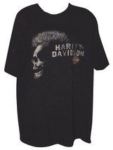Official Harley Davidson Daytona Beach 3D Double Graphics Soft T-shirt S... - $35.99