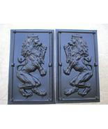 19x34x2 Mold Makes Medieval Celtic L-R Facing Lion Rampant Cement, Plast... - $79.99