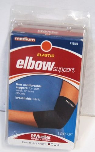 Mueller 415MD Elastic Elbow Support Size Medium Color Black