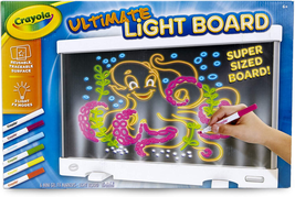 Crayola Ultimate Light Board Drawing Tablet, Gift for Kids, Ages 6, 7, 8, 9 - $38.56