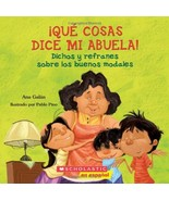 Qué cosas dice mi abuela (The Things My Grandmother Says): (Spanish lang... - $6.92