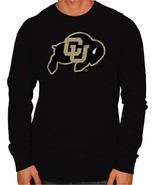 Colorado Buffaloes Original Retro Brand Men's L/S Sleeve Tee Black Small - $17.99