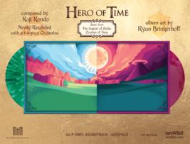 Legend of Zelda Ocarina of Time Limited Edition Vinyl Album Set 2 LP Rec... - $197.95