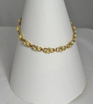Necklace with round pearls and  rhinestones - $319.00