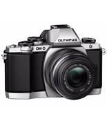 Olympus OM-D E-M10 16.1MP Digital Camera Kit w/14-42mm II R Lens Silver - $316.00