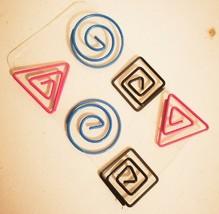 6pcs Design Shapes Paper Clips CL003 - $1.17