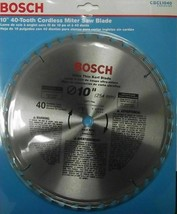 "Bosch CBCL1040 10"" x 40 Tooth ATB Ultra Thin Kerf General Purpose Saw Blade - $9.90"