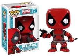 POP Marvel: Deadpool Vinyl Bobble-head Figure - $12.74