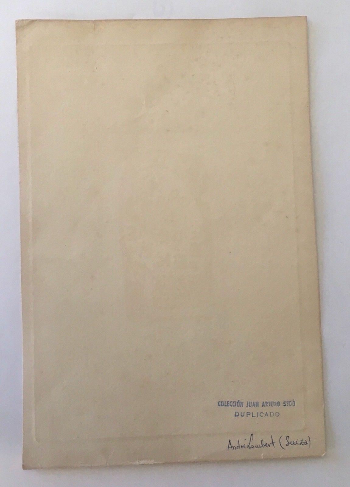 Ex Libris Etching Julio Cesar Salvatierra Pan Vive Nunca Ha Muerto Andre Lambert