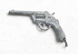 Soviet Vintage Original USSR Piston Pistol Tin Cast Toy Russian Gun - $2.97