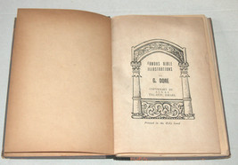 Judaica Famous Bible Illustrations Book Gustav Dore Hebrew English Israel 1951  image 8
