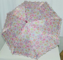 RainStoppers W104CHOWLS Multicolored Manual Open Umbrella Owls image 2