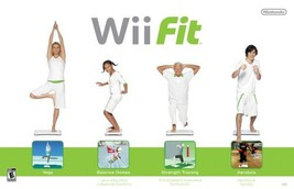 Wii Fit Game with Balance Board - $57.54