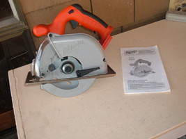 """Milwaukee 18V 6 7/8"""" Saw 6320-20 Metal Cutter Bare Tool. New Usa Old Stock. - $99.00"""