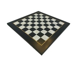 "Professional Tournament Wooden chess board BLACK ART 50 mm - 2"" - $108.89"