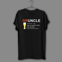 Druncle beer definition like a normal uncle humor novelty gift thumb200
