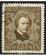 Austria 1922 Semi-Postal Scott# B56 perf 12 1/2 Used - $6.30