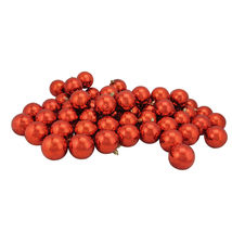 "60ct Burnt Orange Shatterproof Shiny Christmas Ball Ornaments 2.5"" - tkcc - $57.95"