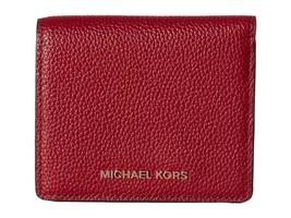 Michael Kors MK Mercer Carryall Card Case Wallet Cherry NWT $88 - $48.99