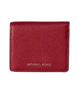 Michael Kors MK Mercer Carryall Card Case Wallet Cherry NWT $88 - $48.99