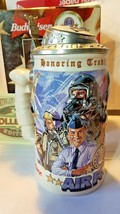 Budweiser Honoring Tradition & Courage Stein Series AIR FORCE Lidded 1999 CS378 - $42.62