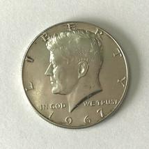 1967 American HALF DOLLAR silver USA fifty 50 CENT PIECE collectible coin - $13.70