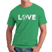 Love Climate Change Men's Heather Irish Green T-shirt NEW Sizes S-2XL - $17.81+