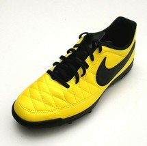 Nike Men's Majestry TF Indoor Soccer Cleats Shoes Neon Yellow/Black Size... - $64.99