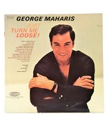 George Maharis Just Turn Me Loose LP Vinyl Album Epic LN 24037 - £5.25 GBP